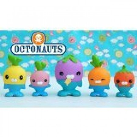 Fisher Price Octonauts Figure 5-Pack The Vegimals - Octonauts Characters Tweak