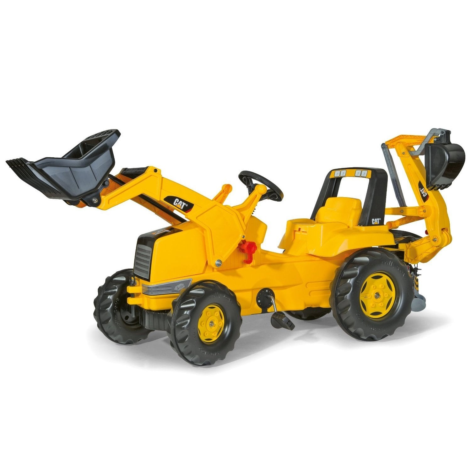 Kettler Cat Front Loader and Backhoe Ride-On by Overstock