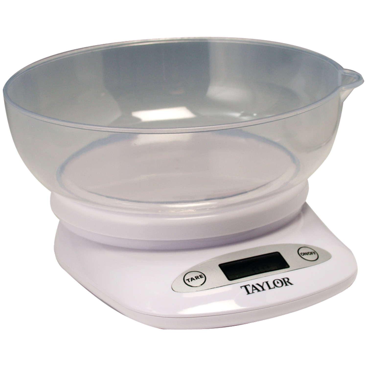 Taylor 3804 Digital Kitchen Scale with Bowl