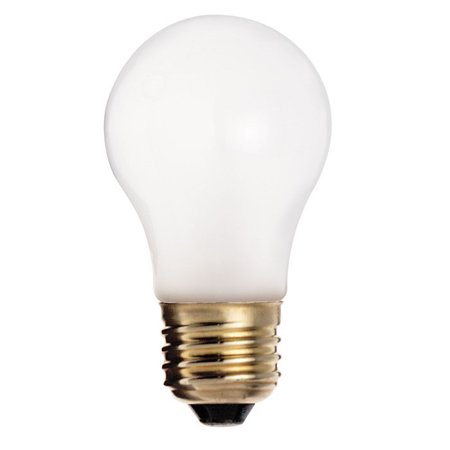 Satco S4882 60W 130V A15 Frosted Shatter Proof Incandescent light bulb ()