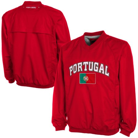 Pullover Wind Vest (Portugal Wind Shell Pullover Jacket - Red)