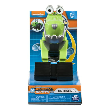- Rusty Rivets – Botasaur Racer Figure with Bonus Parts, for Ages 3 and Up