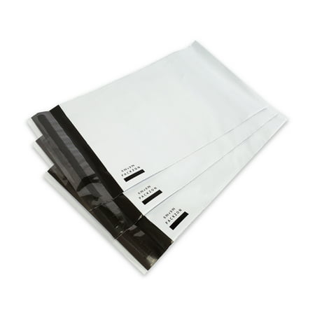 6x9 Poly Mailers Envelopes with Self Sealing Shipping Bags White 2.0 MIL Pack of 100