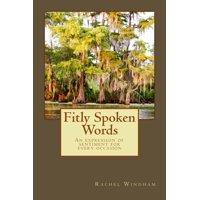 Fitly Spoken Words - eBook