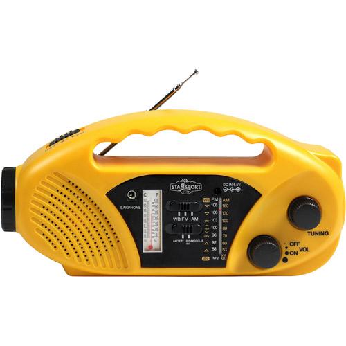 Stansport Solar Radio Flashlight by Stansport