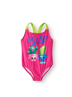 a5bea4ca04e49 Product Image LIttle Girls' 4-6X One-Piece Swimsuit. Product TitleShopkinsLIttle  ...