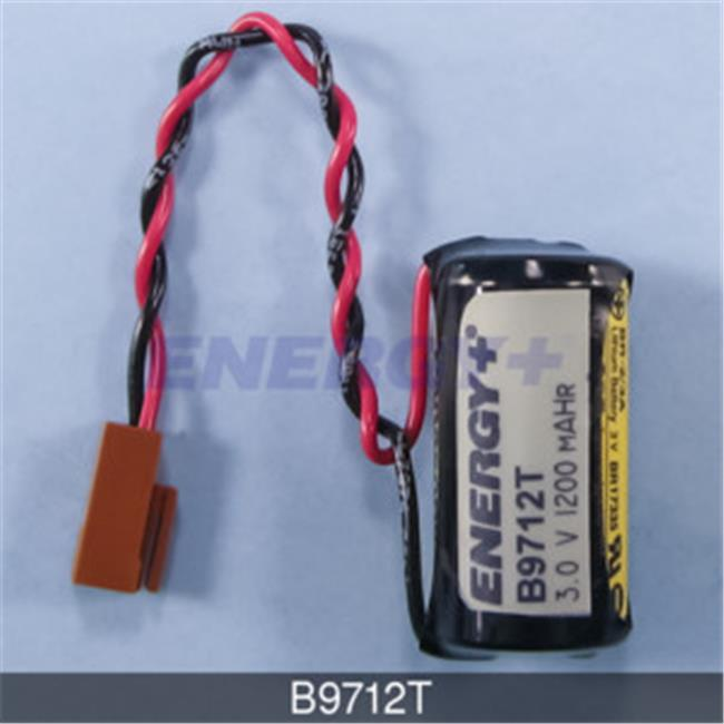 Cutler Hammer GE Fanuc B9712T 3 Volt Lithium PLC Battery