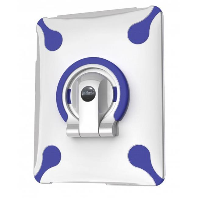 Aidata USA ISP002WN Spin Stand / Multi-Function iPad Stand - White/Blue