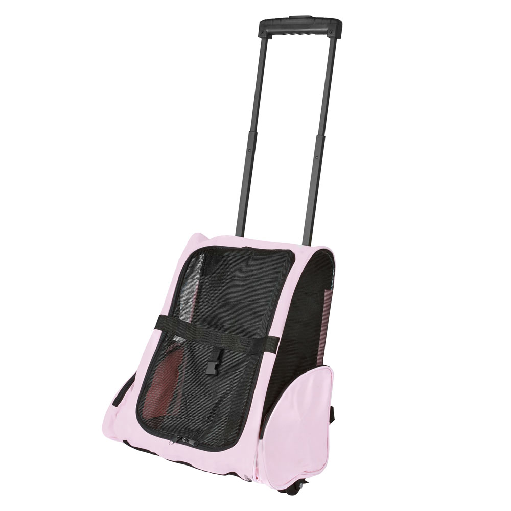 Airline Approved Travel Pet Backpack & Carrier with Wheels