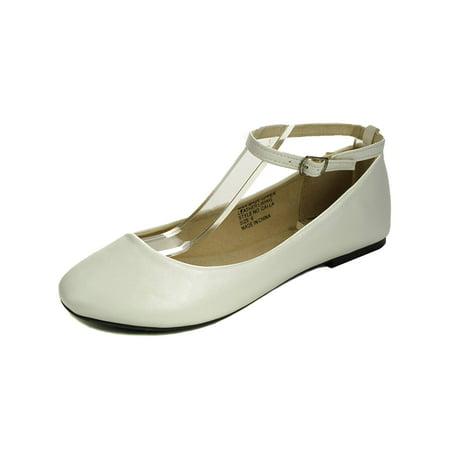 Ballerina Shoes - AlpineSwiss Calla Womens Ballet Flats Ankle Strap Shoe Classic Ballerina Slipper