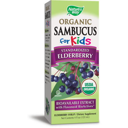 Nature S Way Sambucus For Kids Elderberry