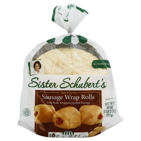 Sister Schubert S Sausage Wrap Rolls 18 Oz Walmart Com