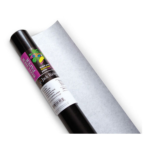 30 by 50 30 by 50/' 1010450 Jack Richeson Black Butcher Paper Foot Roll