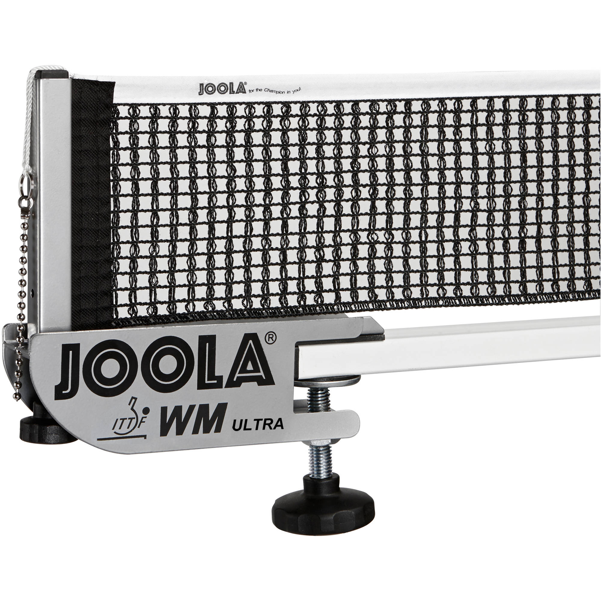 JOOLA WM Ultra Competition Table Tennis Net and Post Set