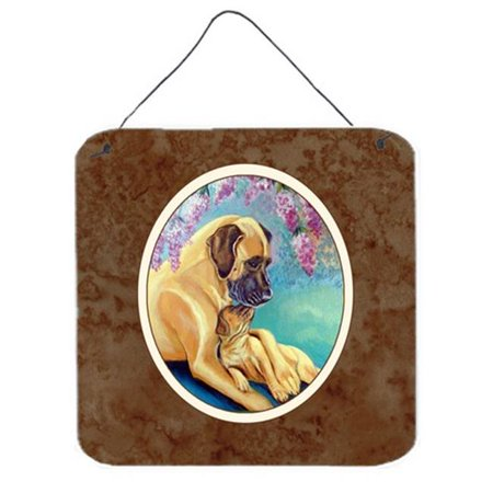 Great Dane & Puppy Wall or Door Hanging Prints, 6 x 0.02 x 6
