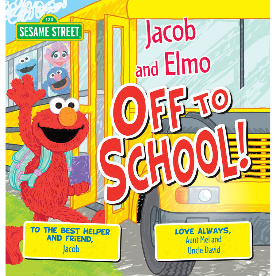 Sesame Street: Off to School! Personalized Book by Generic