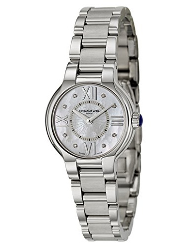 5927-ST-00995 Women's Noemia Mother-Of-Pearl Diamond Dial Watch
