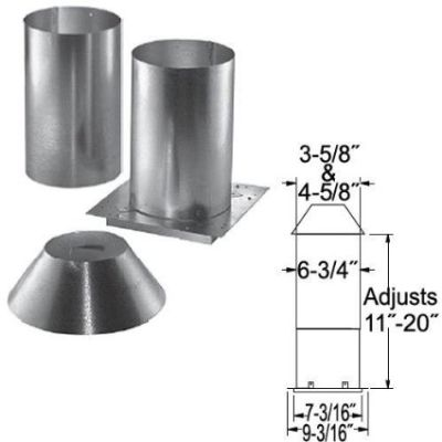 Stainless Steel Stainless Steel Attic Insulation Shield - 3""