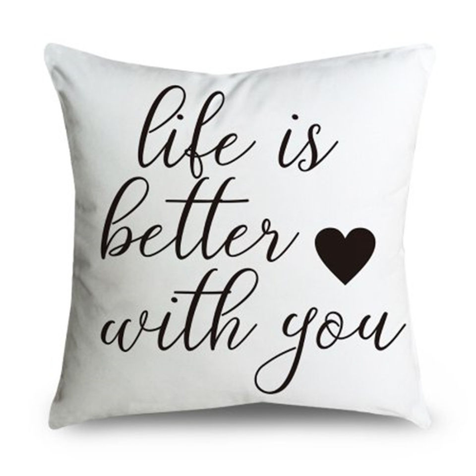 BFF Pillow Cover Pillowcase Teen Gift White Cotton Pillowcase Pillow Case I Can/'t Human Today Pillow Quote