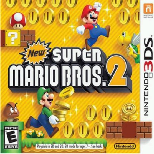 New Super Mario Bros 2, Nintendo, Nintendo 3DS, 045496742072