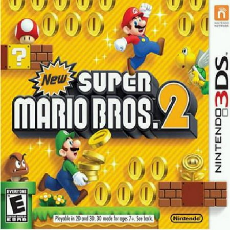 New Super Mario Bros 2, Nintendo, Nintendo 3DS, (New Super Mario Bros U All Bosses)