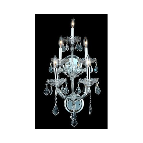 Elegant Lighting 2800W5C/RC Wall Sconces Maria theresa