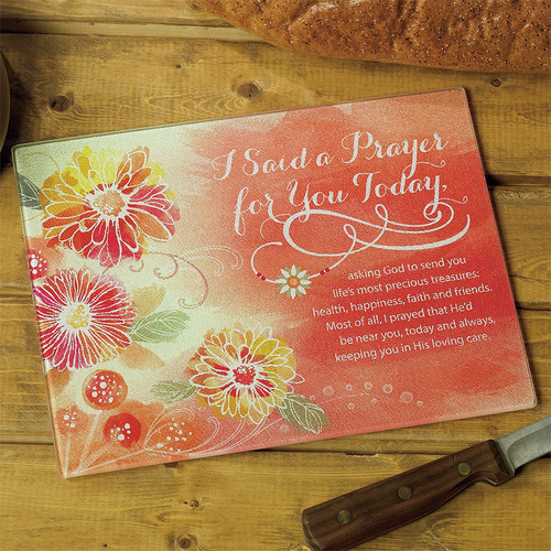 Abbey Press I Said A Prayer  Mini Cutting Board