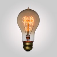 582cd3f7f8b Product Image Fantado 25-Watt Incandescent A19 Vintage Edison Light Bulb