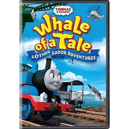 Thomas and Friends: Whale of a Tale and Other Sodor Adventures (DVD) - Tales Of Halloween Review