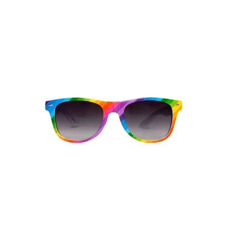 Gravity Shades Rainbow Color Horn-Rim (Chanel Sun Glass)