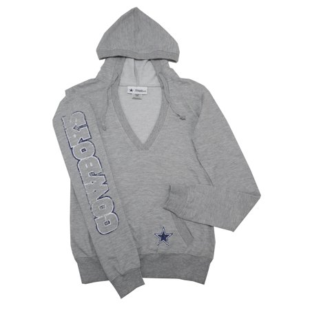 Dallas Cowboys Authentic - Dallas Cowboys Authentic Womens Size Small  V-Neck Pullover Hoodie 23beed4a1