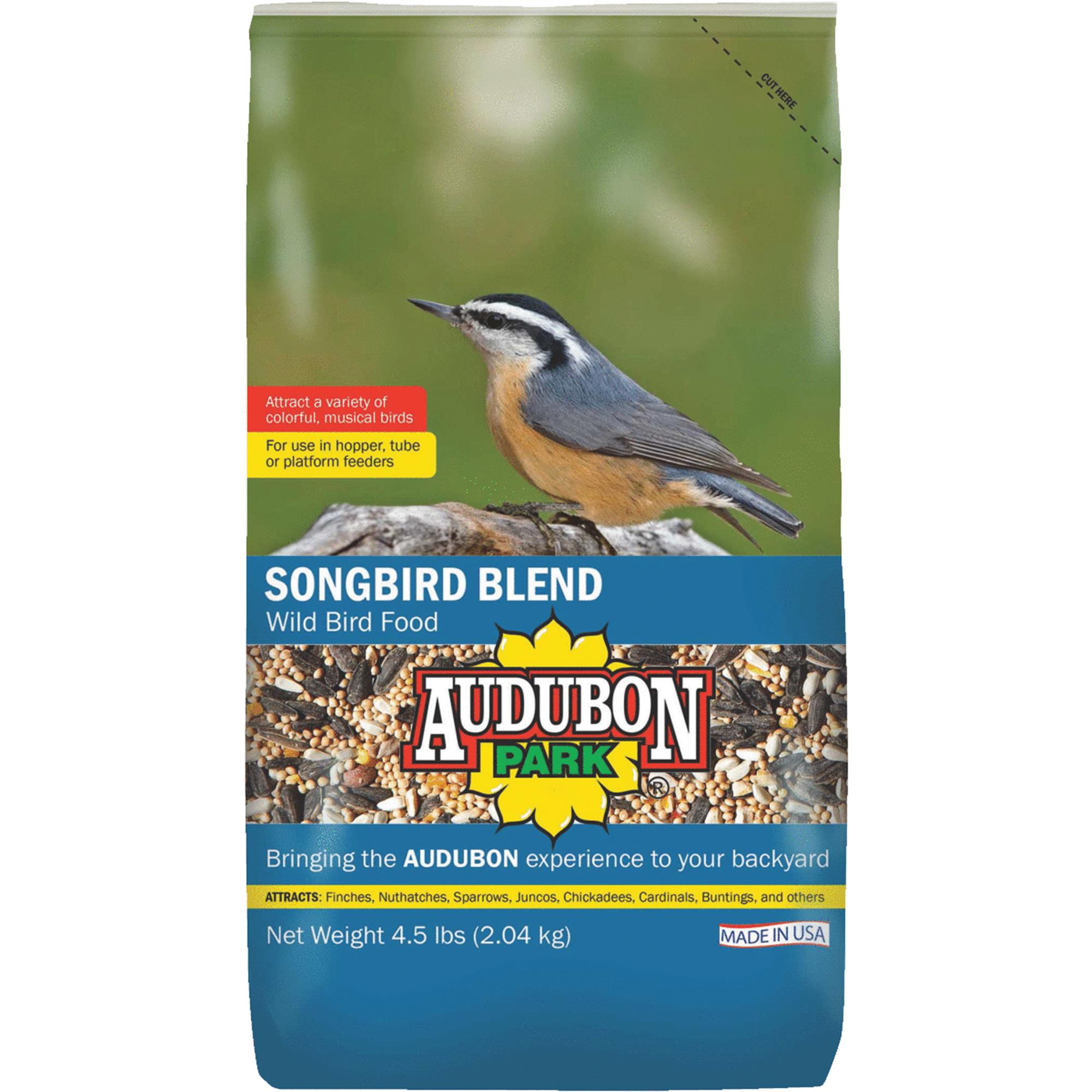 Audubon Park 10777 4.5 lb Songbird Wild Bird Food by Global Harvest/woodinville