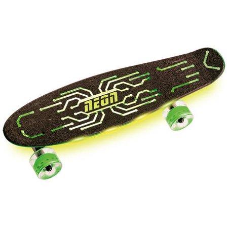Spiksplinternieuw Neon Vybe Skateboard Penny Board Hype Green for Kids - Walmart.com XX-45