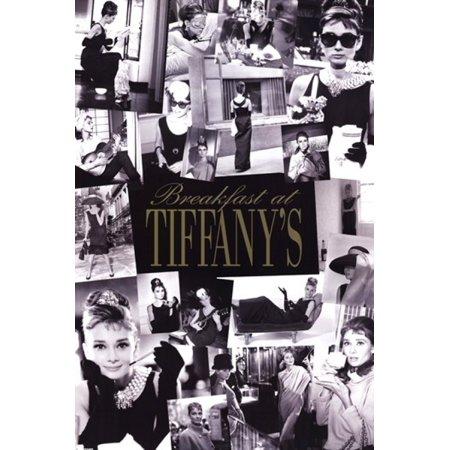 Audrey Hepburn Breakfast At Tiffanys Montage Poster Poster Print - Breakfast At Tiffanys Costume