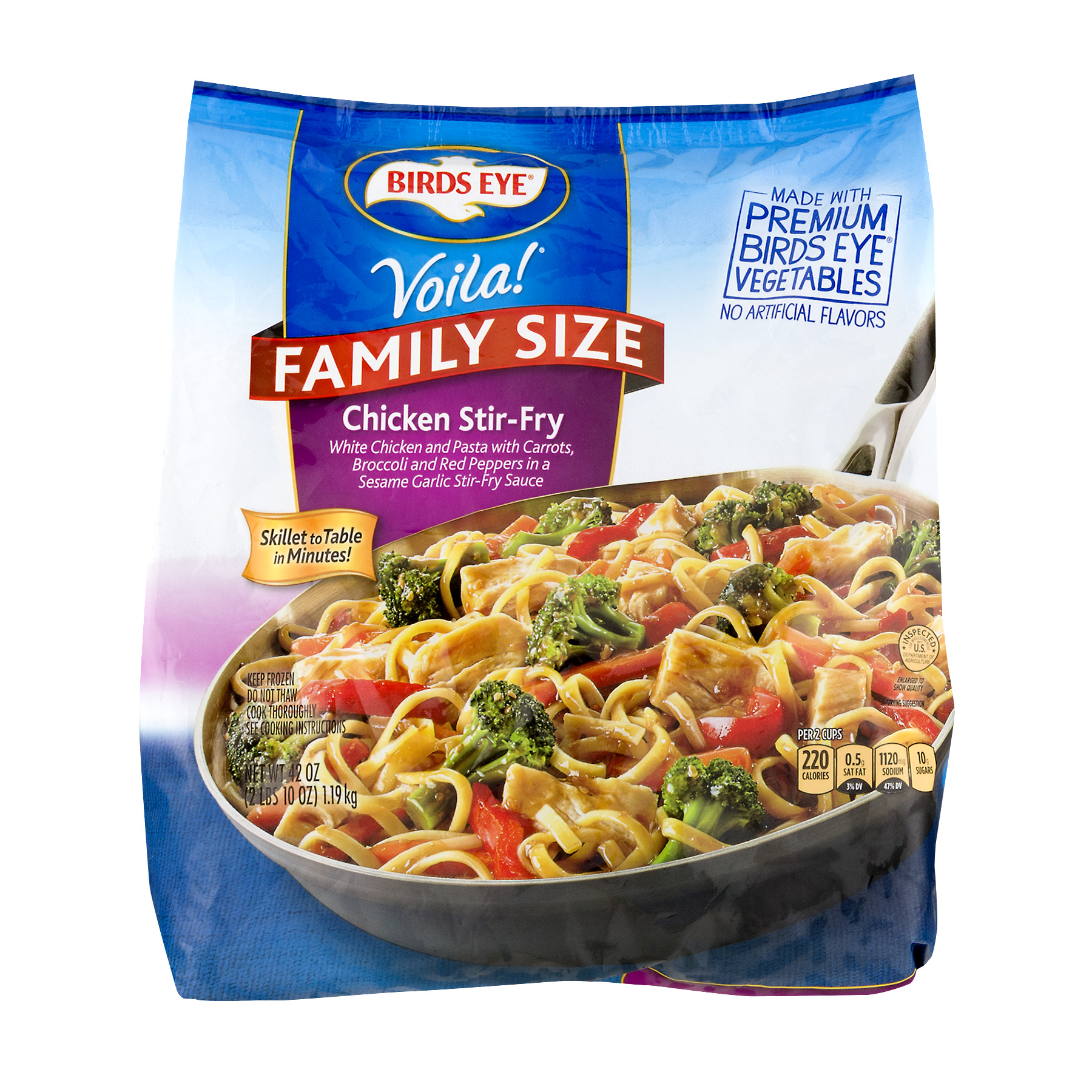 Birds Eye Voila! Chicken Stir-Fry Family Size, 42 oz