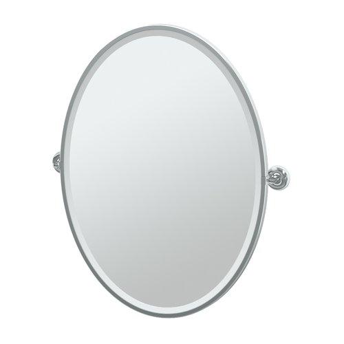 Gatco Designer II Framed Oval Mirror by Gatco