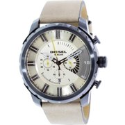 Men's Stronghold DZ4354 Beige Leather Quartz Watch