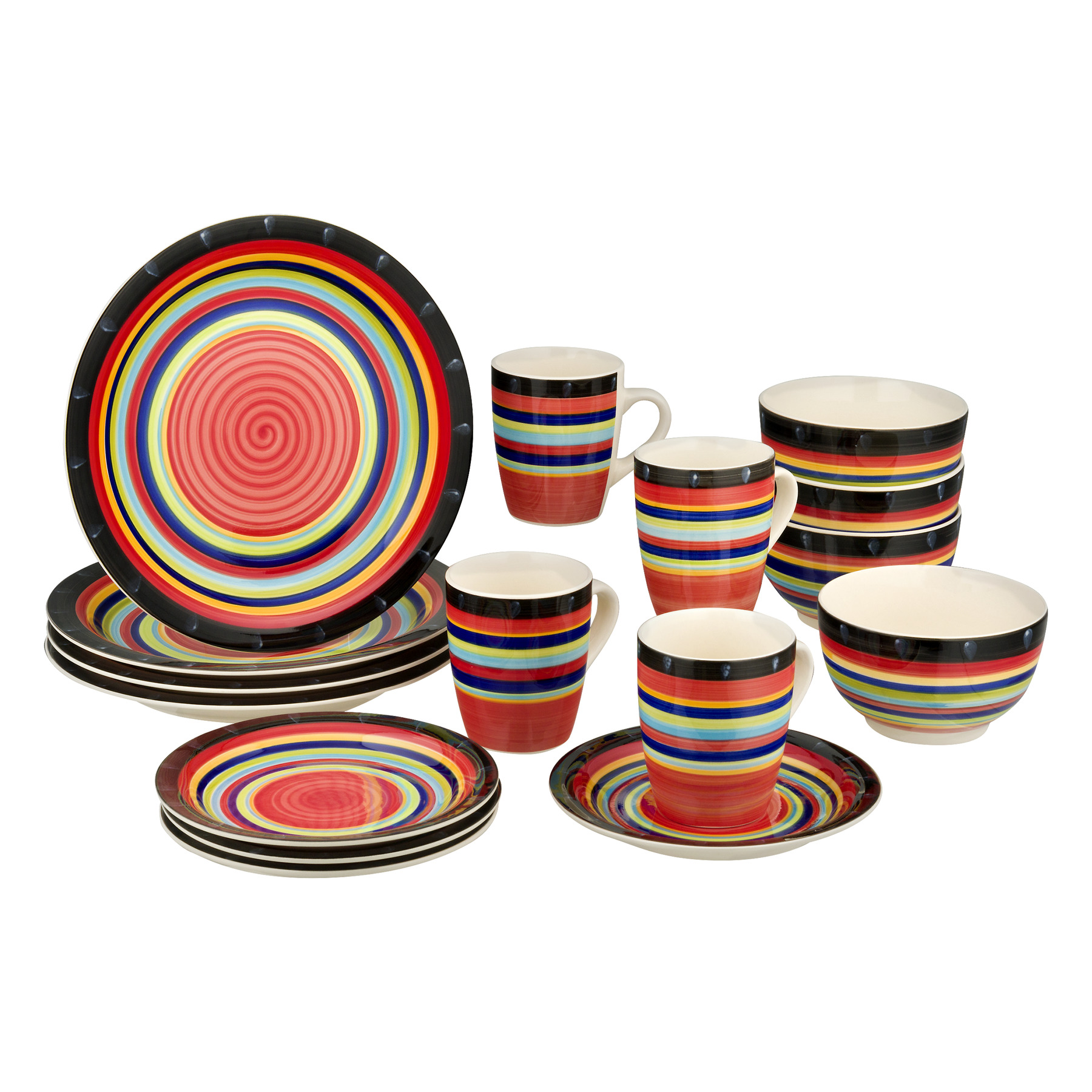 Gibson Home Casa Stella Dinnerware Set - 16 PC, 16.0 PIECE(S)