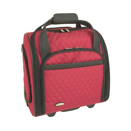 Wheeled Underseat Carry On W Backup Bag 13 5 X 8