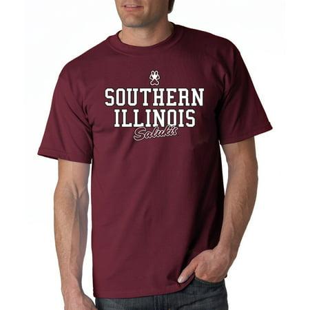 Illini T-shirts - J2 Sport Southern Illinois Salukis NCAA Campus Script Unisex T-shirt