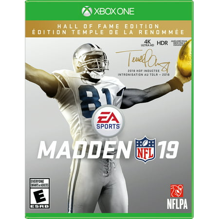 Madden NFL 19 Hall of Fame Edition, Electronic Arts, Xbox One, (Madden Nfl 17 Standard Edition Xbox One)