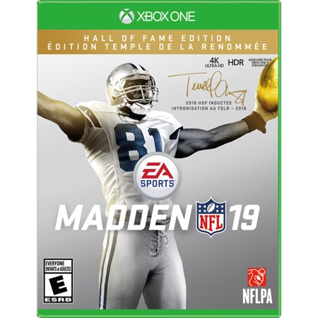 Madden NFL 19 Hall of Fame Edition, Electronic Arts, Xbox One, 014633739220
