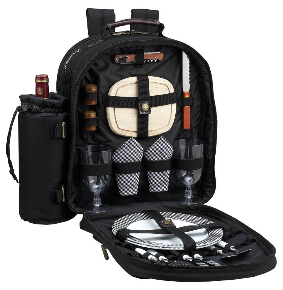 Classic Picnic Backpack for two