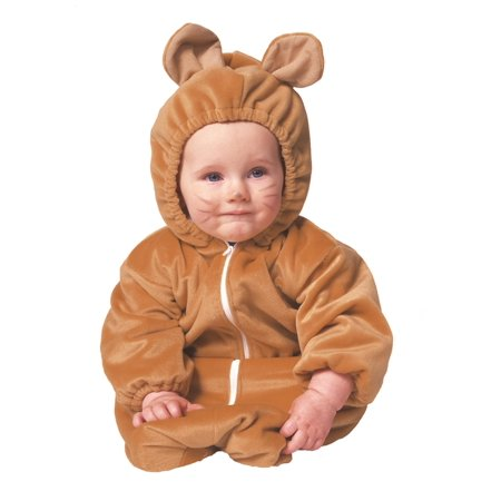 Bear Bunting Zipper Velboa Infant Costume - Zipper Costume Halloween