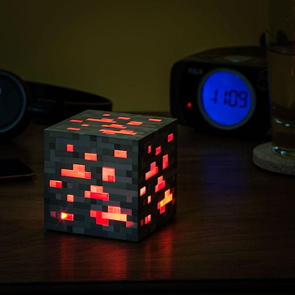 Minecraft Redstone Ore Nightlight