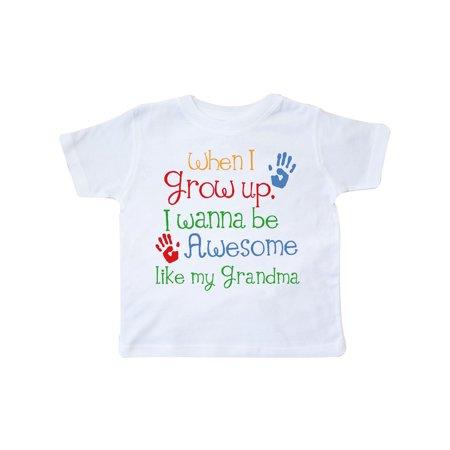 Awesome Like Grandma Toddler T-Shirt