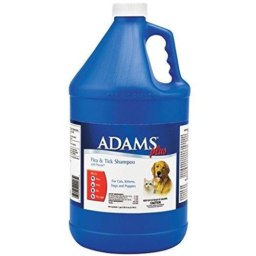 Adams Plus Flea & Tick Shampoo with Precor, 1-gallon