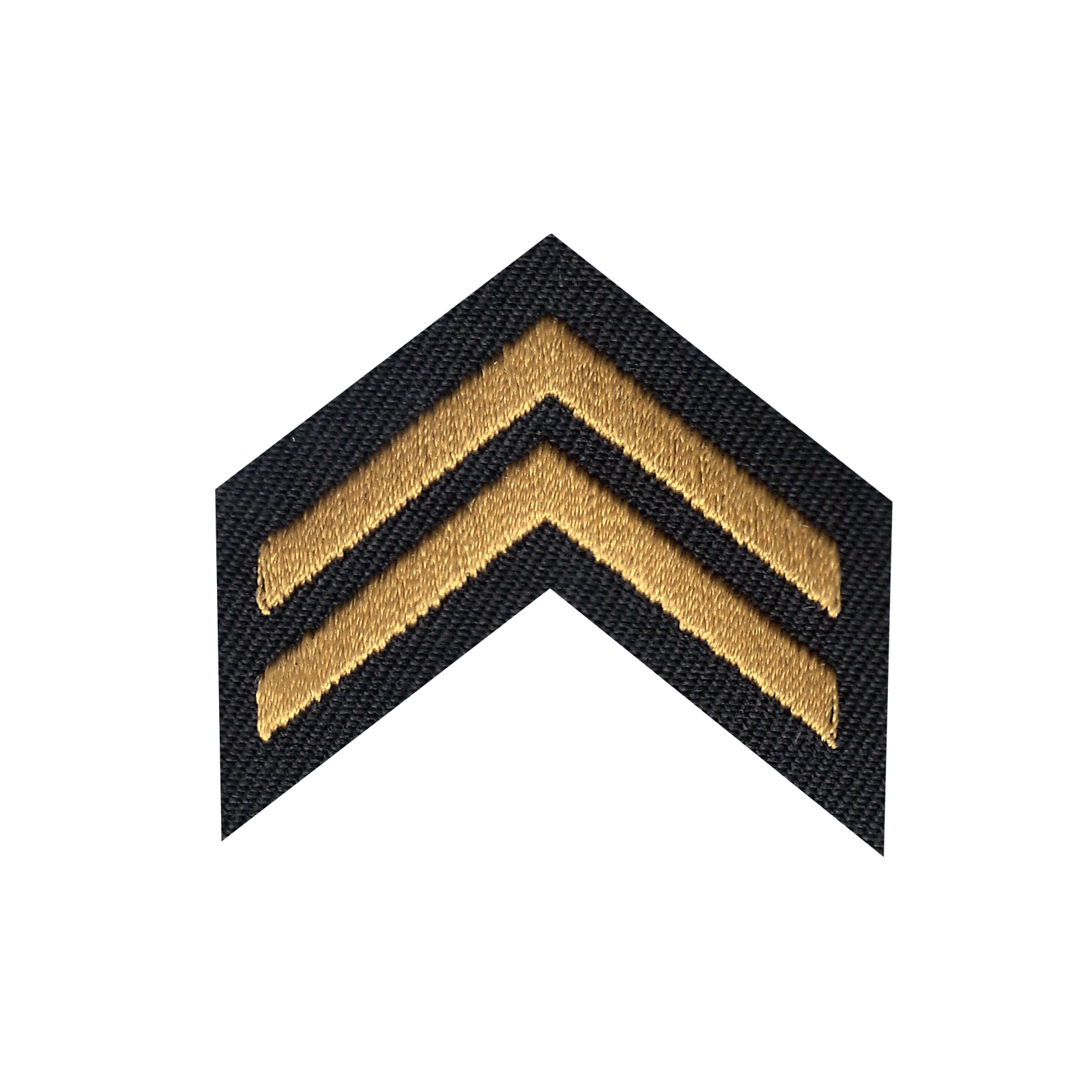 Corporal Iron On Applique Patch
