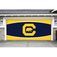 Victory Corps 810034CALB-002 7 x 16 ft. NCAA Double Garage Door Decor California Bears - No.002