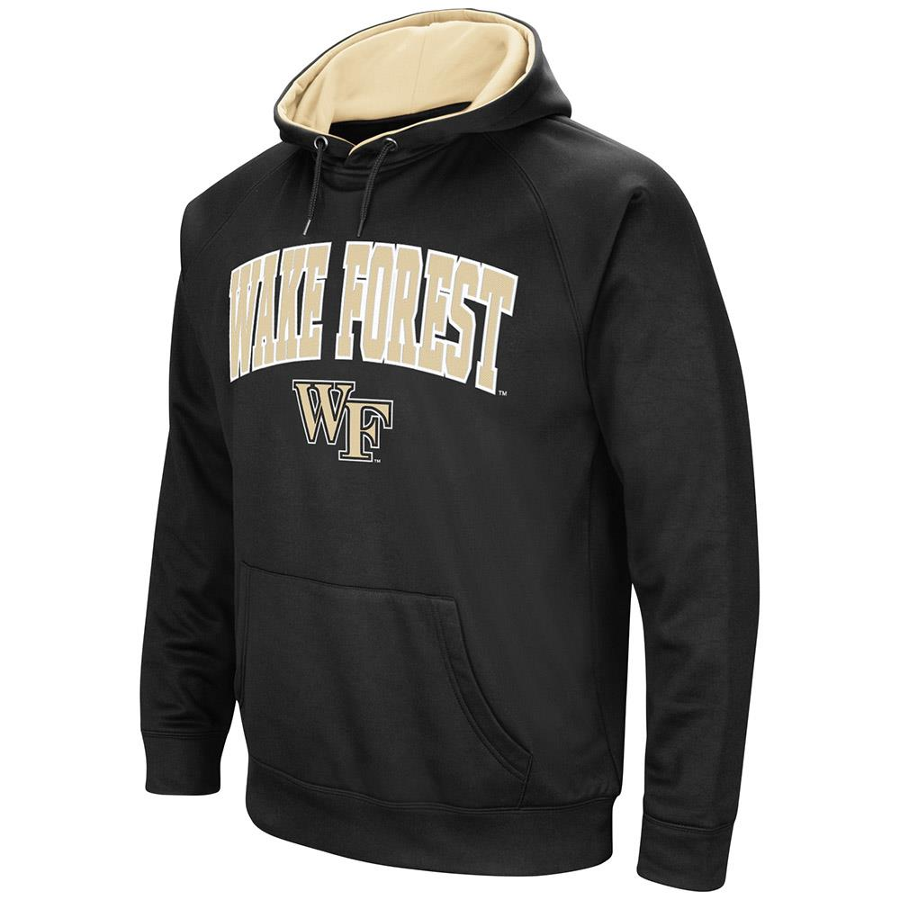 Mens NCAA Wake Forest Demon Deacons Fleece Pull-over Hoodie by Colosseum